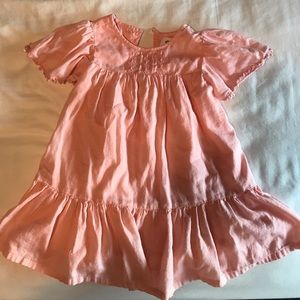 Toddler girls pink dress